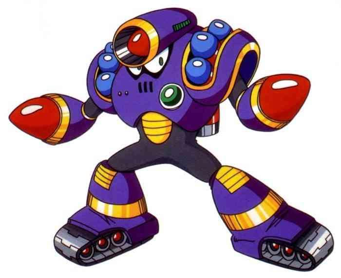 Mega Man Robot Masters Napalm Man
