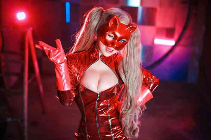 Persona 5 Cosplay Top
