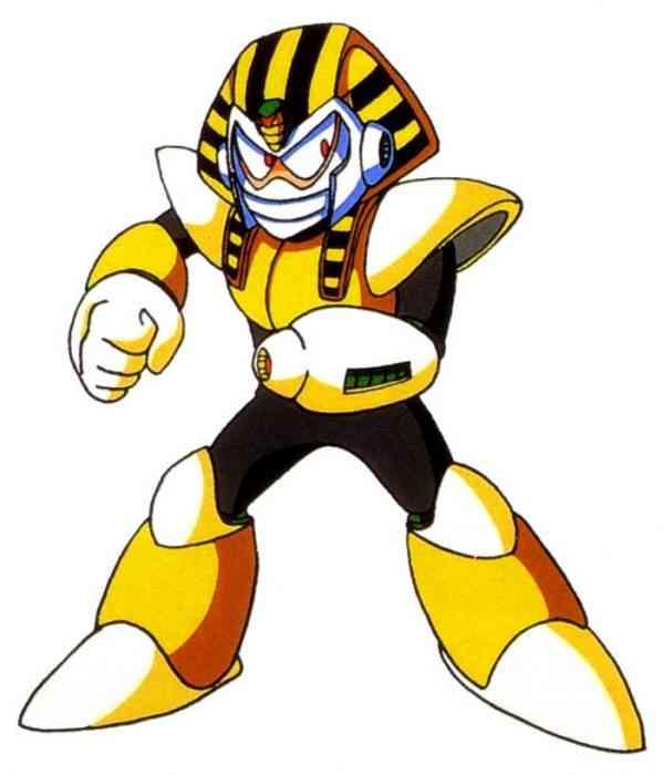 Mega Man Robot Masters Pharaoh Man