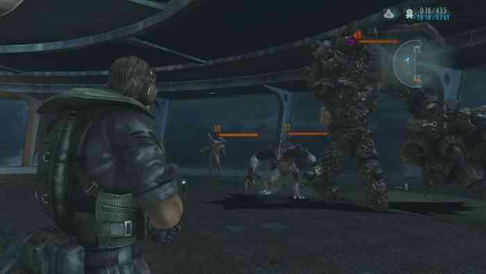 Resident Evil Revelations screen 2