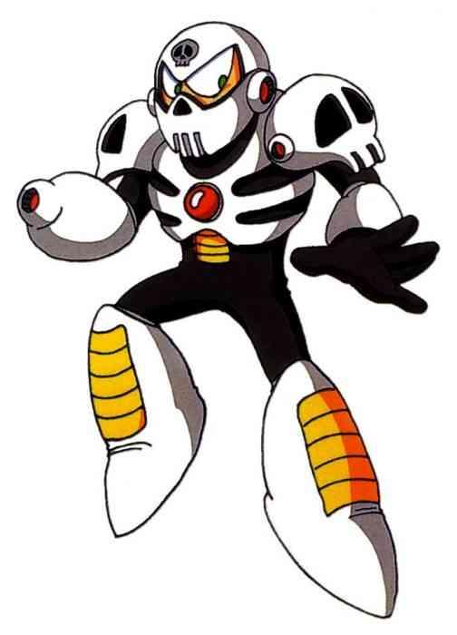 Mega Man Robot Masters Skull Man