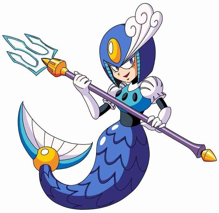 Mega Man Robot Masters Splash Woman