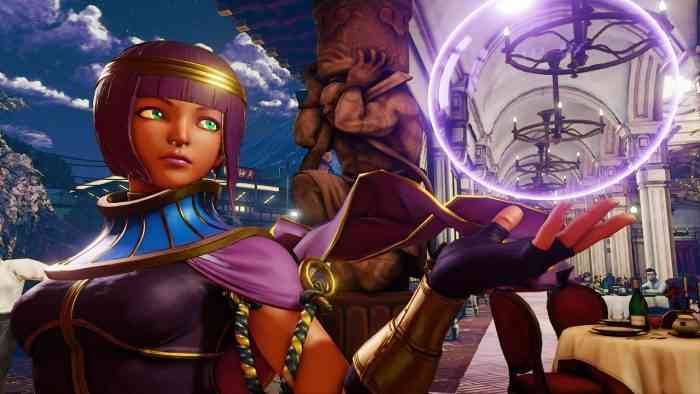 Street Fighter 5 Menat Reveal Trailer