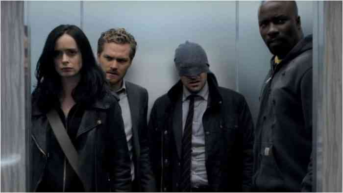 The Defenders Netflix Top Screen