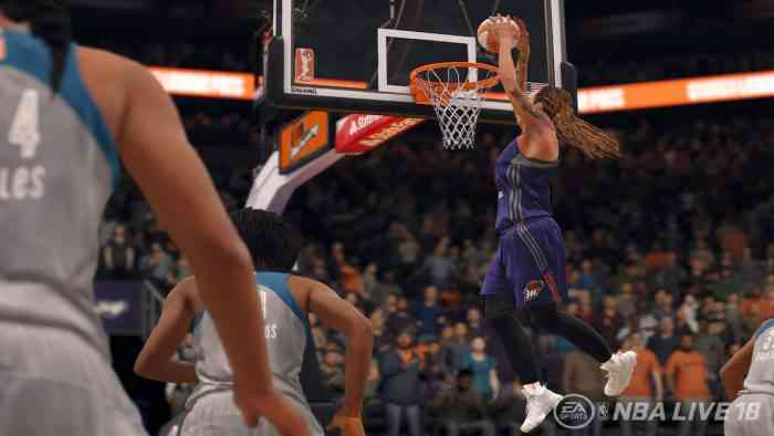 NBA Live 18 WNBA-screen