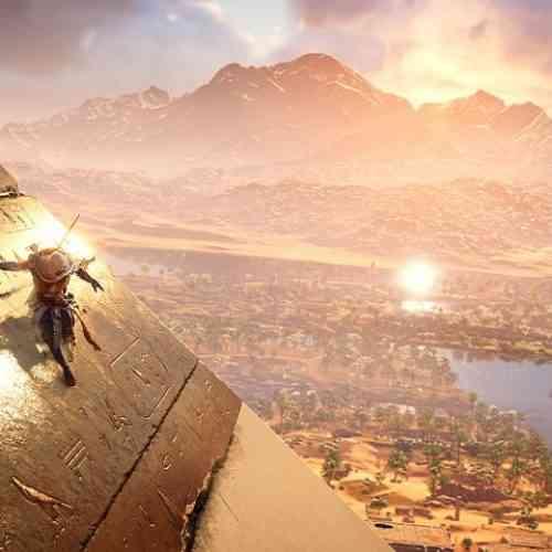 assassin's creed origins feature pyramid