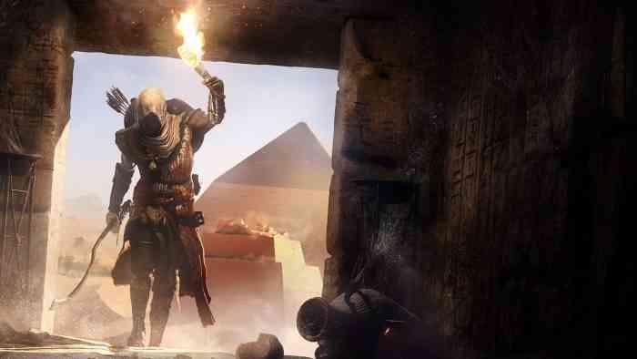 Assassin's Creed Origins tomb raiding top