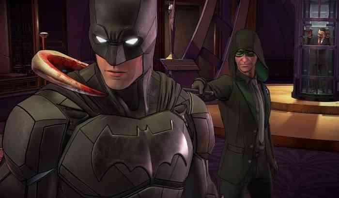 Batman Versus the Riddler Batman the enemy within