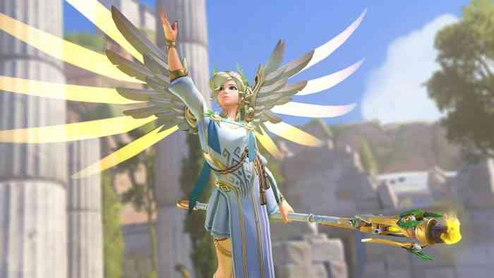 Blizzard's radically changing Overwatch's Mercy