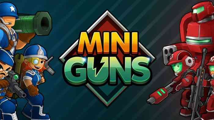 miniguns mobile game