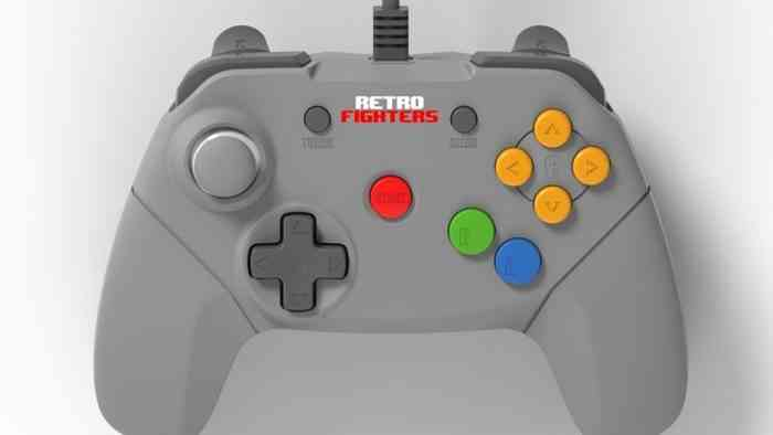 Retro Fighters N64 Controller