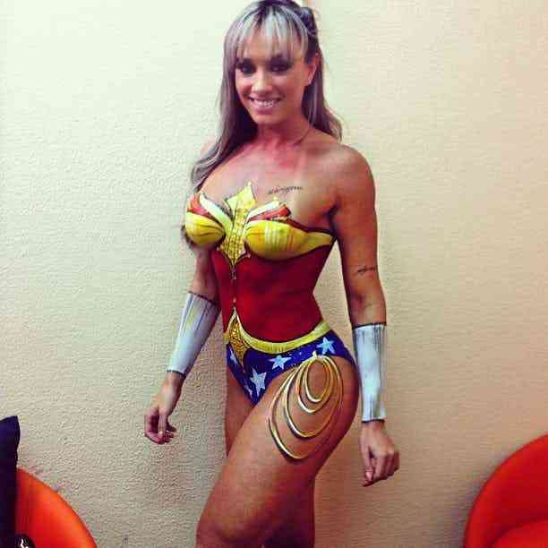 Super Hero Body Paint Cosplay 3