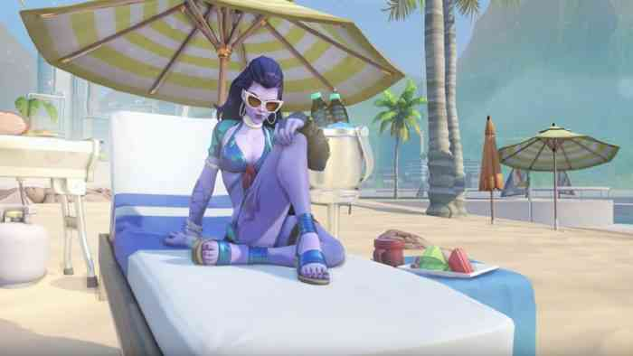 widowmaker swimsuit overwatch top