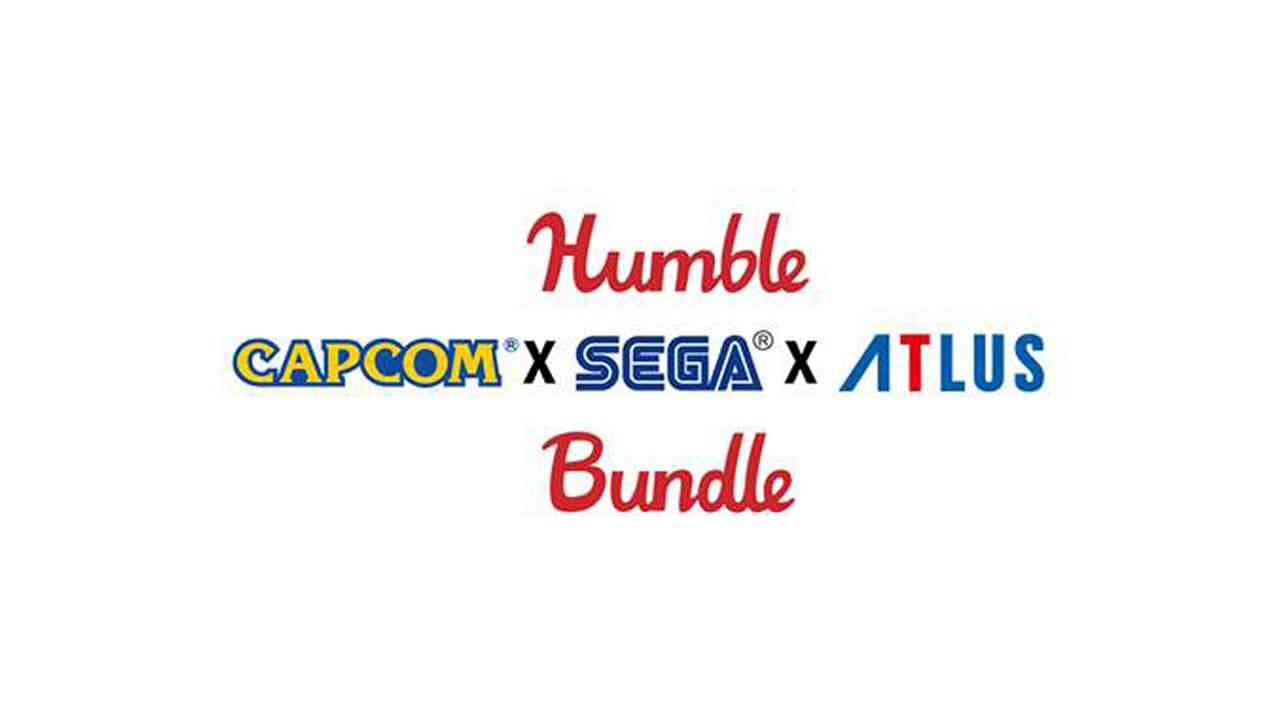 The Humble Capcom X Sega X Atlus Bundle is live