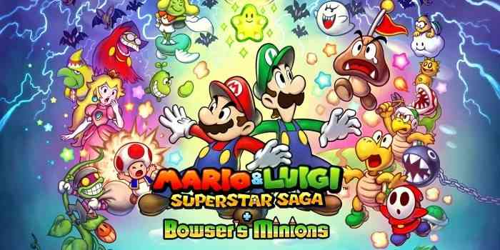 mario luigi superstar saga bowser's minions article 3ds