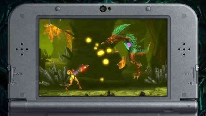Metroid: Samus Returns Screen