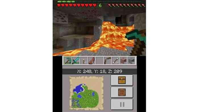 minecraft 3ds article