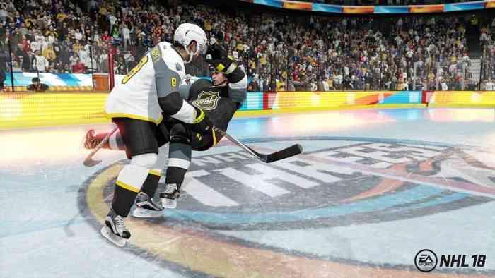 NHL 18 top