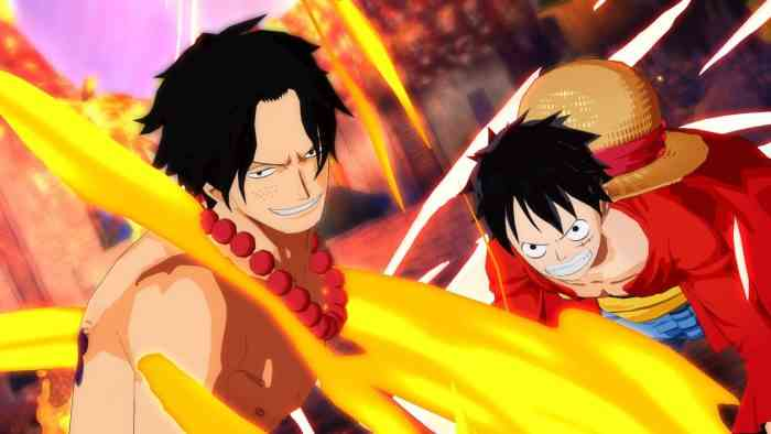 One Piece: Unlimited World Red top screen