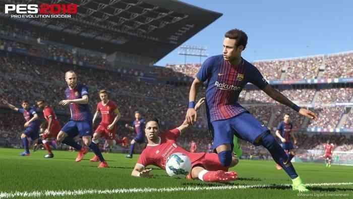 Pro Evolution Soccer 2018 Screen