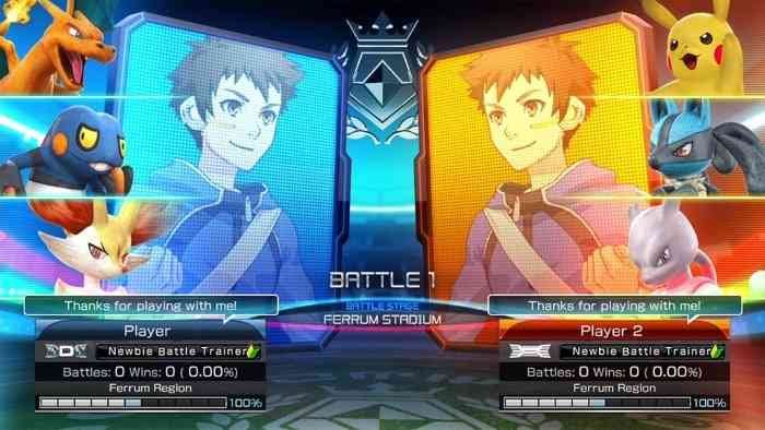 Pokken Tournament DX - article