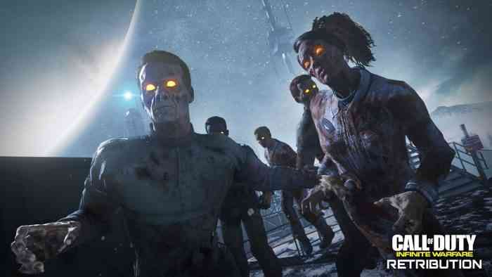 infinite warfare retribution zombies