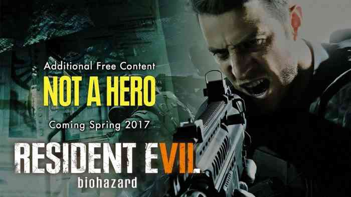 Resident Evil 7 Not a Hero screen