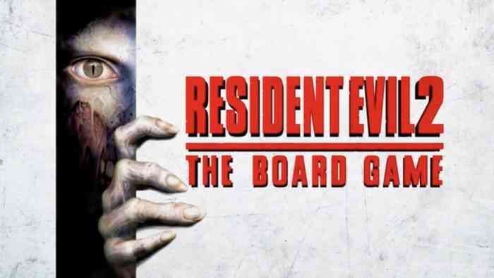 resident evil 2 - the board game top