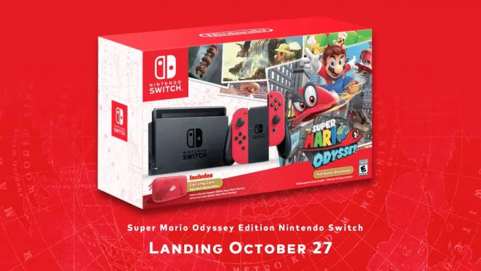 Super Mario Odyssey Bundle