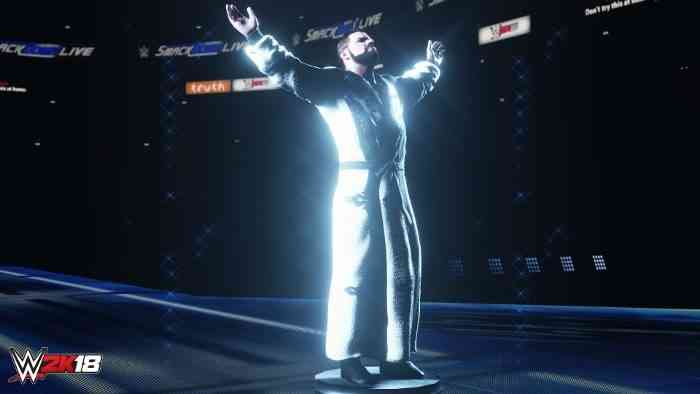 WWE 2K18 Screen