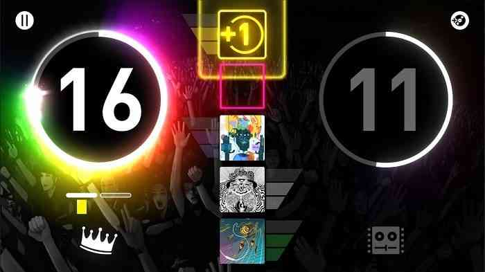 DropMix Clash Mode Screen