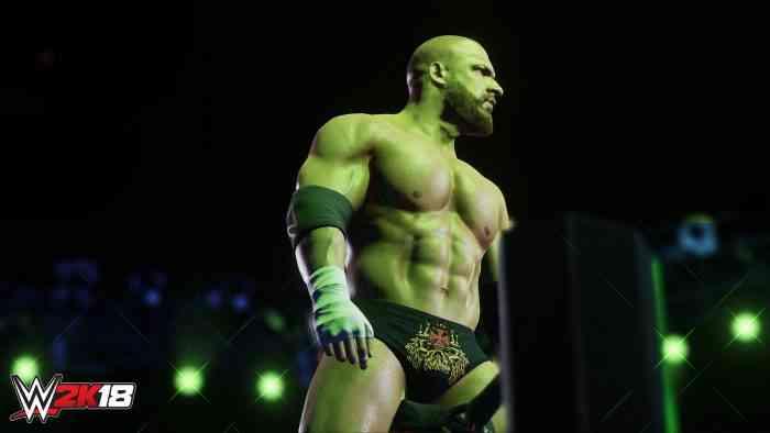 WWE 2K18 Hero