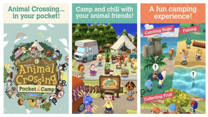 Animal Crossing Pocket Camp screen