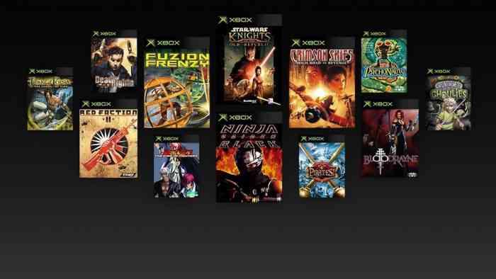 Original Xbox Backwards Compatibility Launch Titles