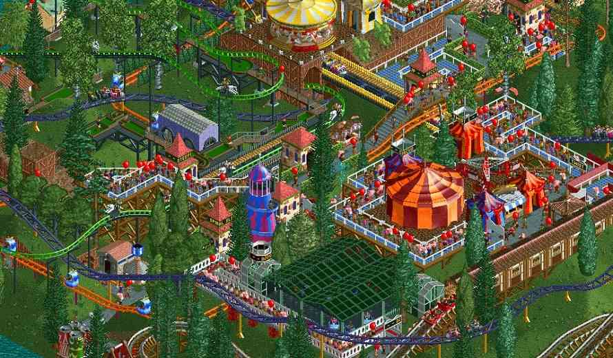 RollerCoaster Tycoon Classic Review - Retro Theme Park Sim ...