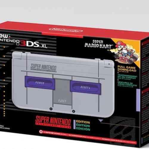 SNES New Nintendo 3SX XL feature
