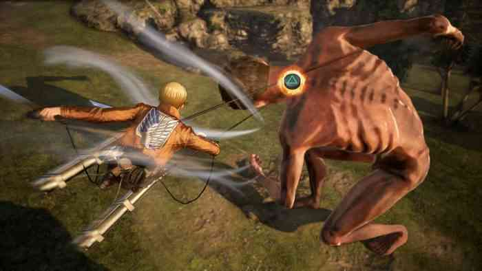 Koei Tecmo Details Attack on Titan 2's New Features