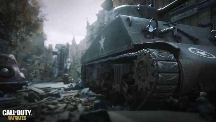 Call of Duty WW2 Tank