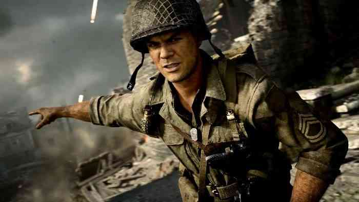 Call of Duty WW2 Screen