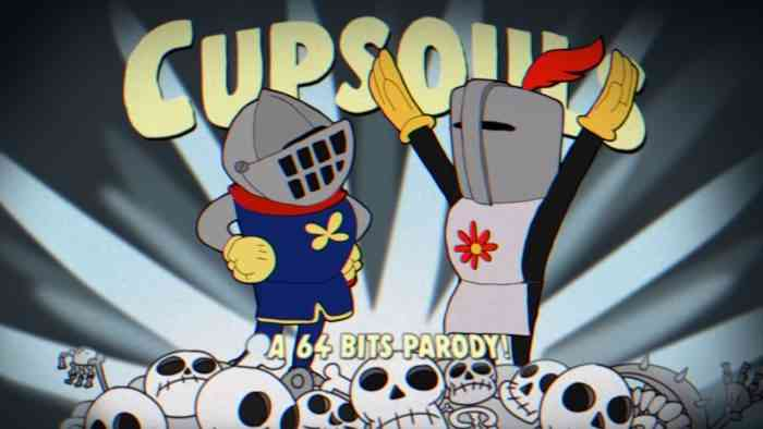 This Crossover Proves That Dark Souls and Cuphead Aren't That Different