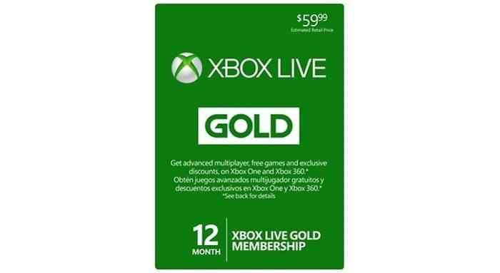 Xbox Live Gold - Article