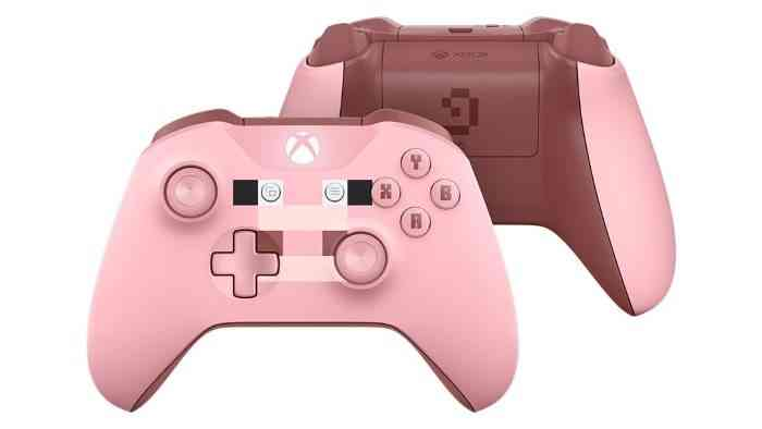 Xbox One Minecraft Pig Controller - Article