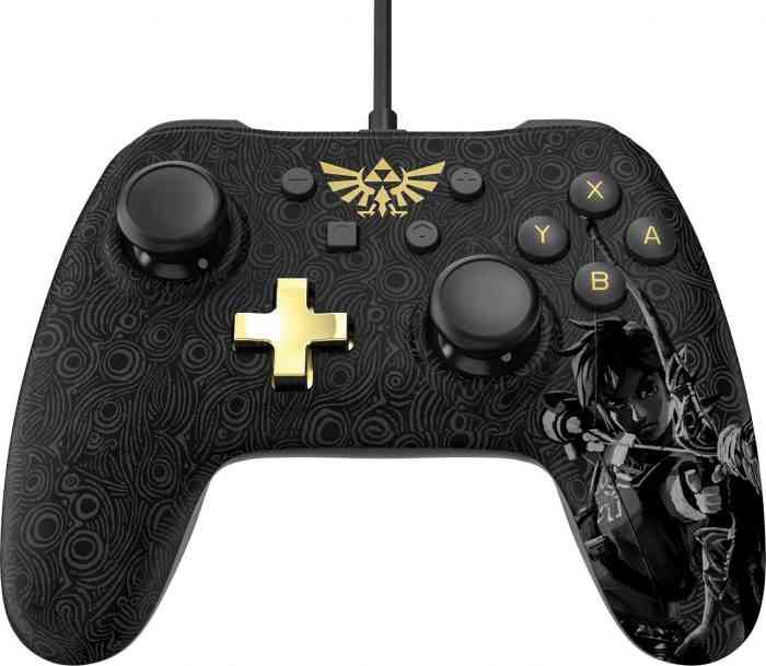 breath of the wild controller nintendo switch