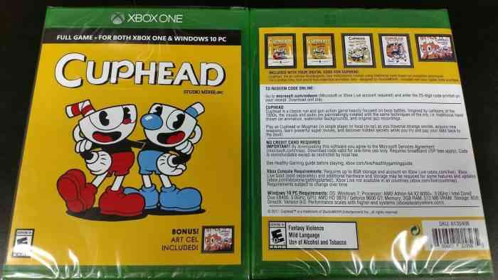 Cuphead Physical Edition