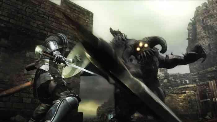 Demons Souls main screen