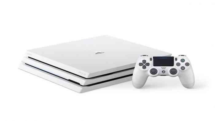 Glacier White PS4 Pro Console