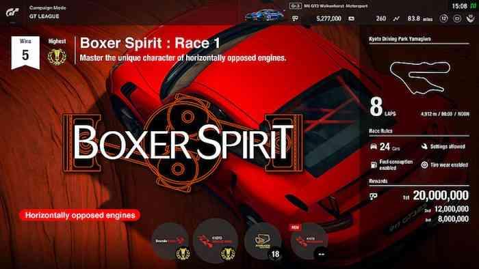 Gran Turismo Sport GT League
