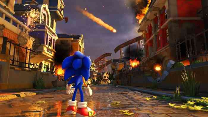 Sonic Forces main screen 1280x