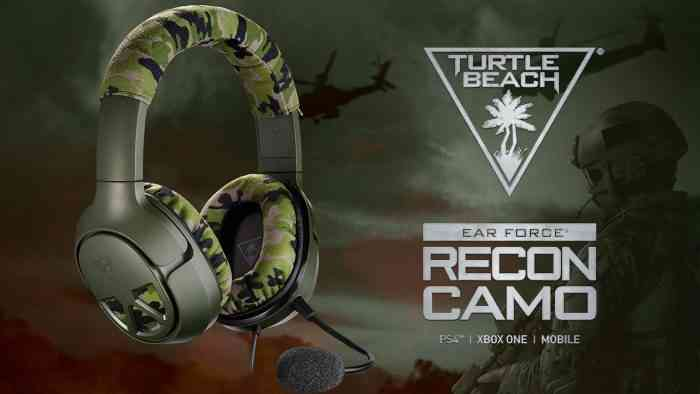 turtle beach recon camo headset top