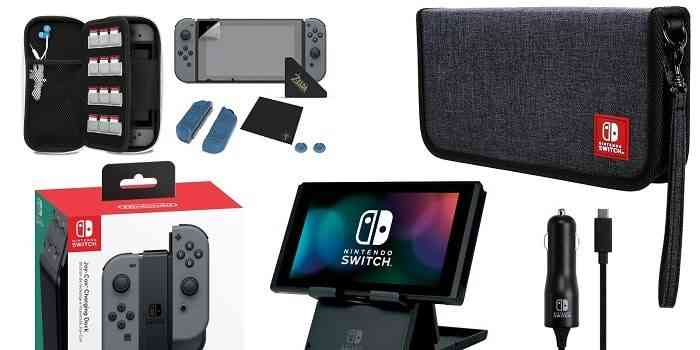 Switch Accessories Stocking Stuffer